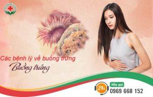 các bệnh lý về buồng trứng