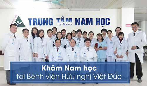 Khám nam học ở bệnh viện Việt Đức